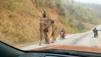 10 days motorbike tour to Laos - start / finish in Hanoi Vietnam (2)